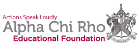 Alpha Chi Rho Educational Foundation Logo
